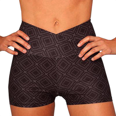 Summit Crossover High-Waisted Yoga Shorts Shorts Wolven