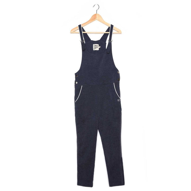 Corduroy Overalls - Blue Jumpsuits Camp Collection S