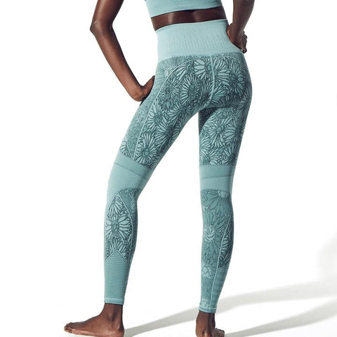 Avocado Secret Garden legging