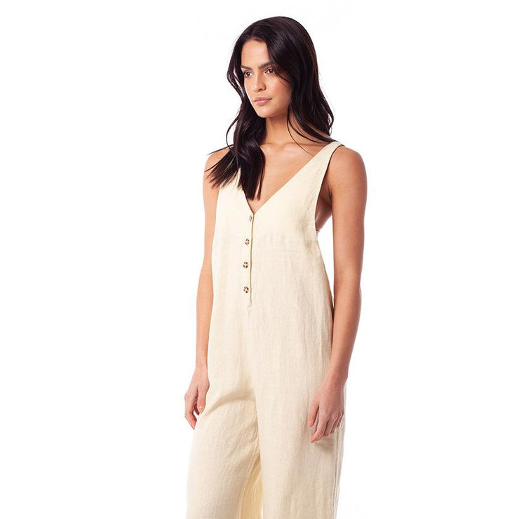 Amalfi Jumpsuit - Lemon Jumpsuits Rhythm