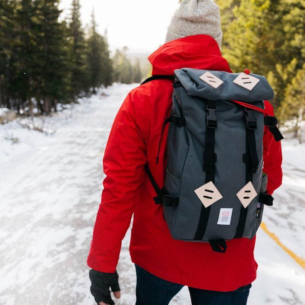 charcoal backpack topo designs