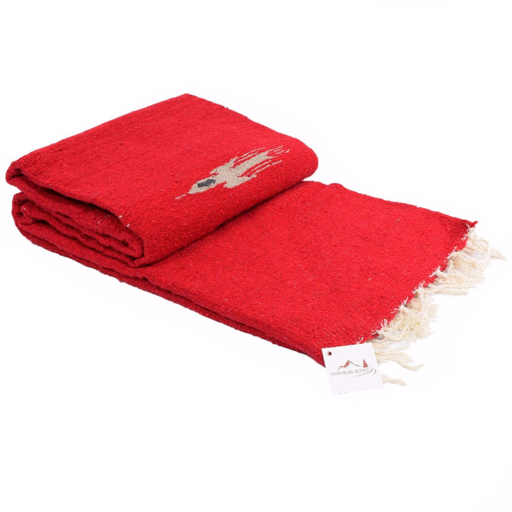 Red Clay Baja Thunderbird Blanket Baja Blankets West Path
