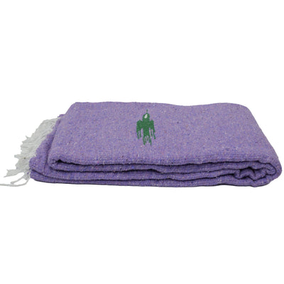 Mexican Thunderbird Yoga Blanket in light purple