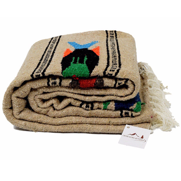 Sand and Stone Baja Fish Yoga Blanket