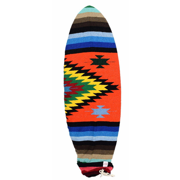 Mexican blanket surfboard bag surfboard sock