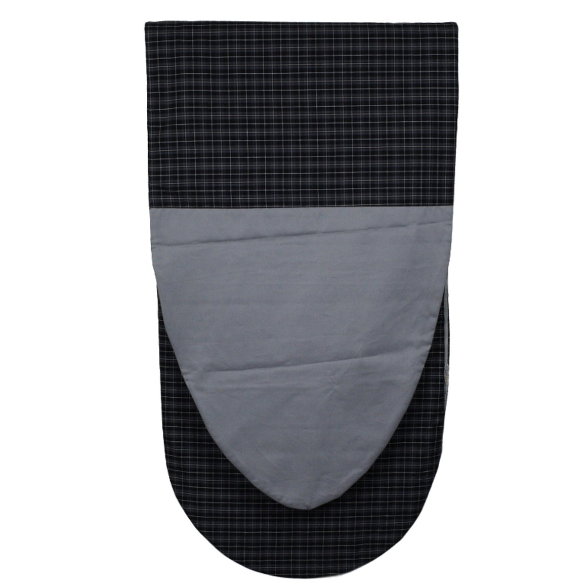 Black Plaid Nazaré Surfboard Bag