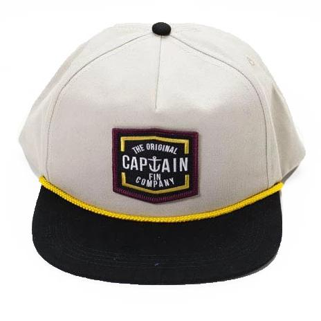 Lynard Snapback Hat Hats Captain Fin