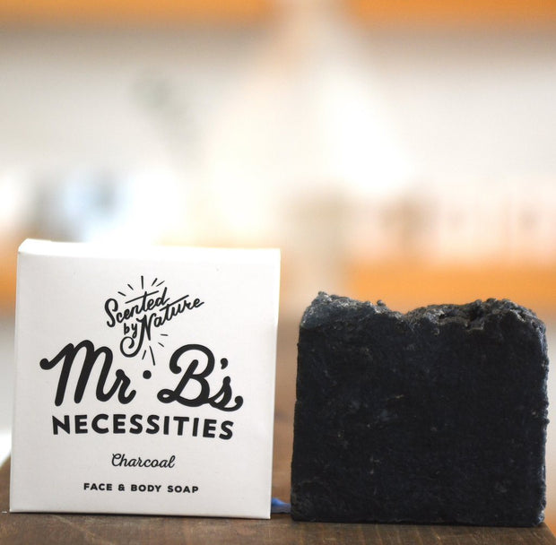 Handcrafted Charcoal Soap - All Natural
