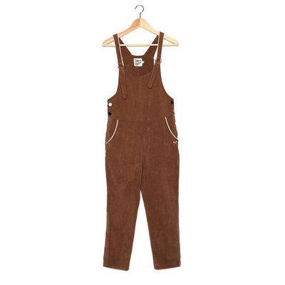 Corduroy Overalls - Brown Jumpsuits Camp Collection
