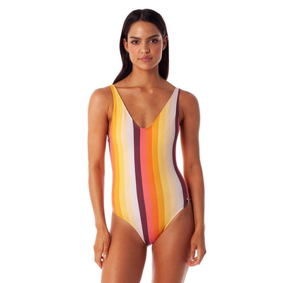 Retro Striped One Piece One-Piece Rhythm