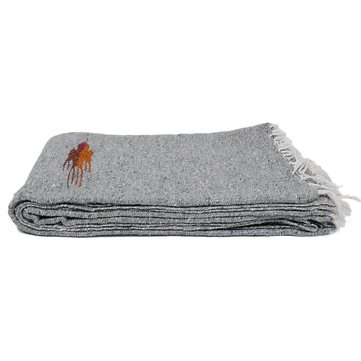 Heather Grey Baja Thunderbird Blanket