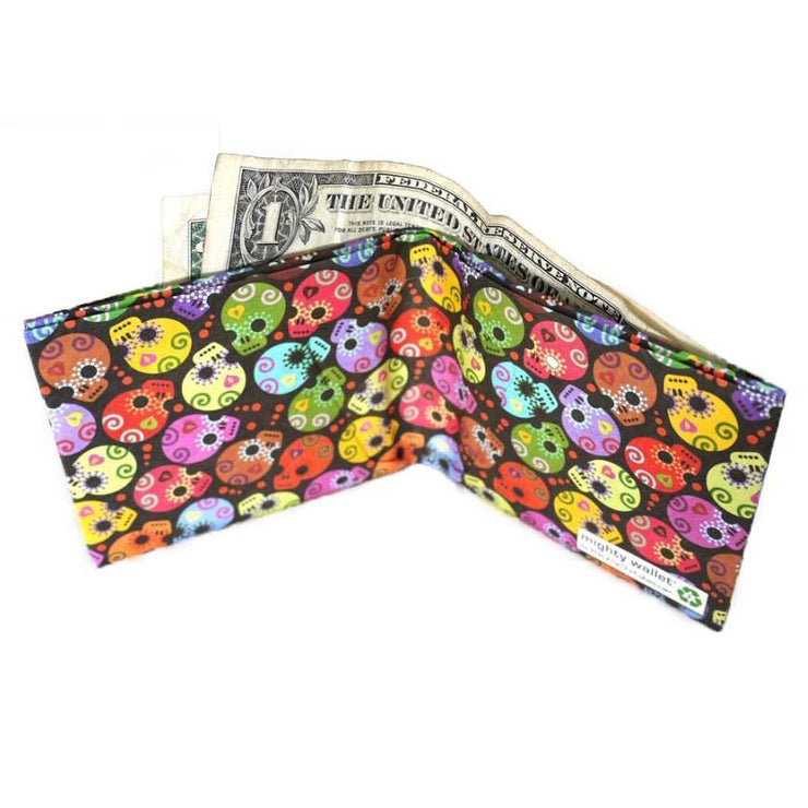 day of the dead tyvek wallet