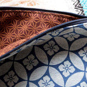 Blue Hibiscus Clutch Bags & Backpacks Rubyzaar