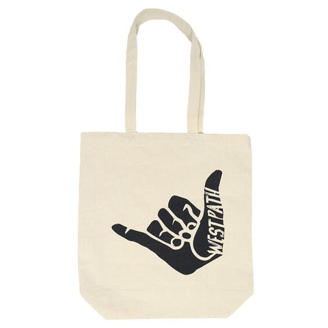 west path canvas tote bag