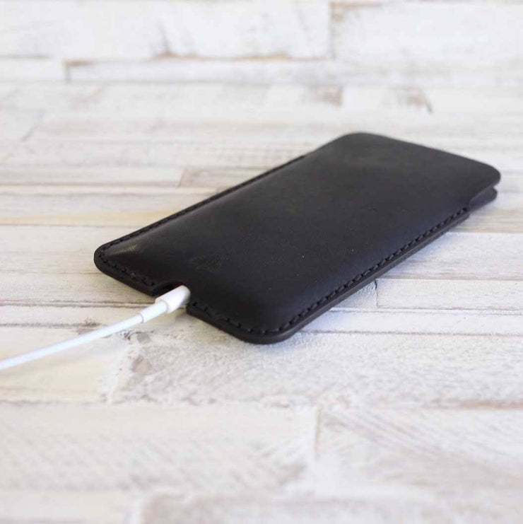 leather iphone8+ sleeve