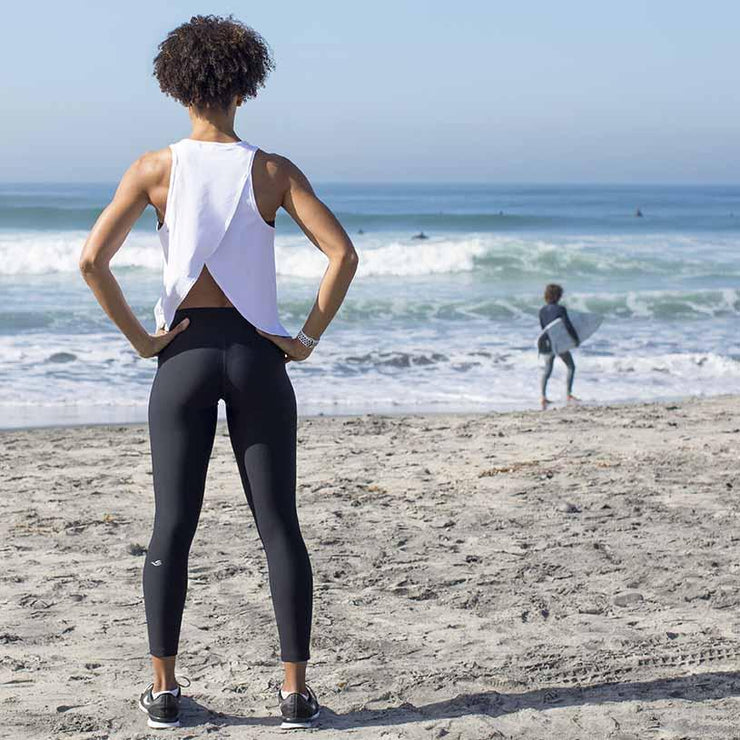 Hot Yoga Capri Leggings for Bikram Yoga