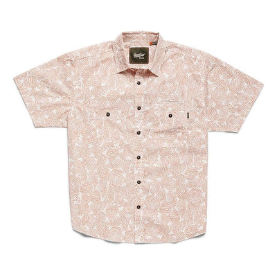 Aransas Shirt - Prickly Pear Print Claytop Woven Shirts Howler Bros M
