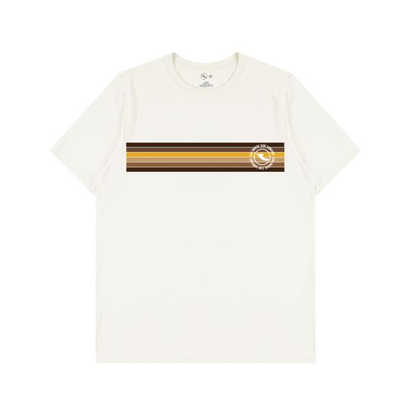 Down The Line Tee - White T-Shirts San Onofre Surf Company XL