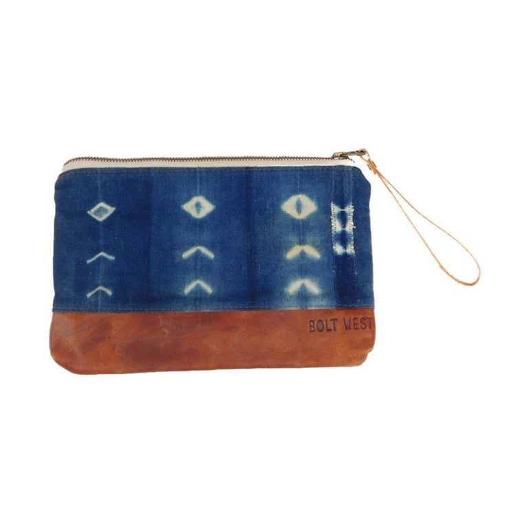 Indigo Clutch Clutches & Pouches Bolt West