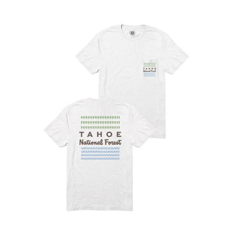 Lake Tahoe Pocket Tee