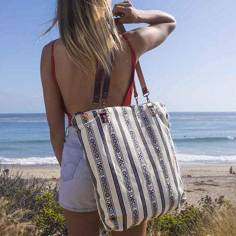 Bolt West Aztec Day Tote Leather bag