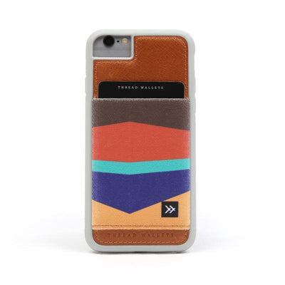 Leather Wallet iPhone Case - Warner Phone Cases Thread Wallets Default Title