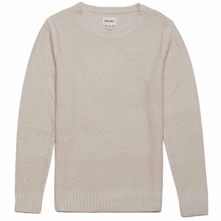Classic Knit Sweater - Natural White Sweaters Rhythm L