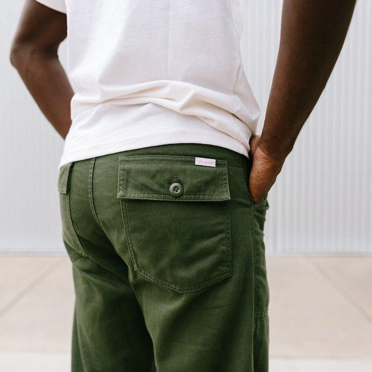 mens fitted canvas pants