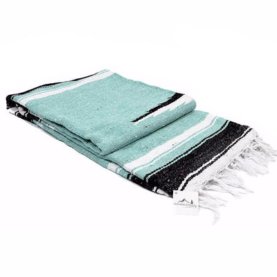 Mint Diamond Yoga Blanket Baja Blankets West Path