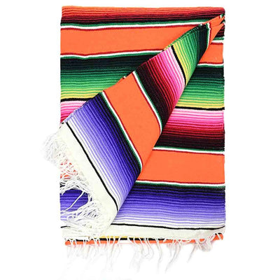 Isla Serape Rainbow Isla Blankets West Path