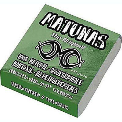 Organic Surf Wax - Matunas Cool Wax Surf Wax Matunas