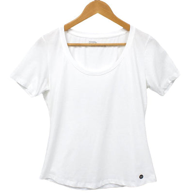 Organic Scoop Neck T shirt - Eco Friendly, 100% Cotton, Fair Trade Tee T-Shirts West Path