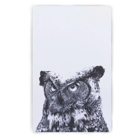 Travel Notebook Owl Cover