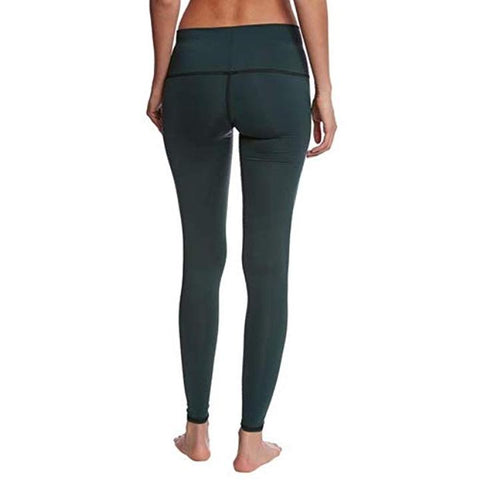 teeki hunter green Yoga hot pants leggings