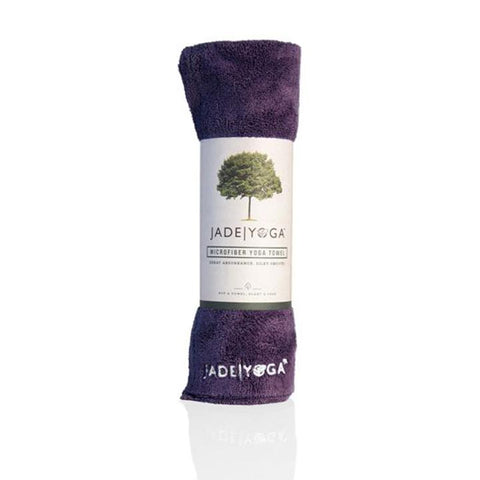 Jade Yoga Mat Towel - Purple