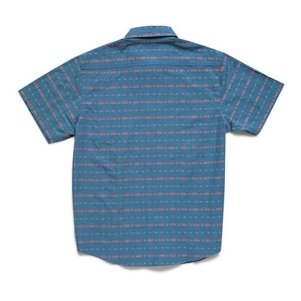 mens button up printed shirt
