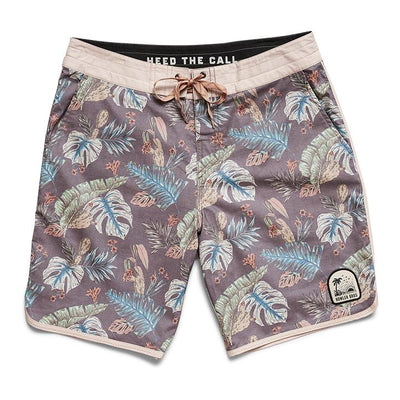Stretch Bruja Boardshorts - Coffee Trunks Howler Bros 32
