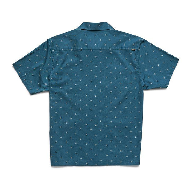 mens blue pattern shirt