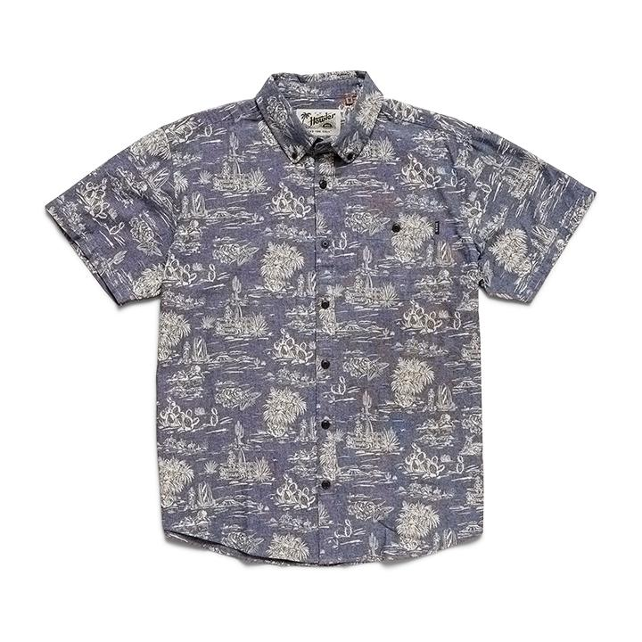 Mansfield Shirt - Outpost Print Woven Shirts Howler Bros M