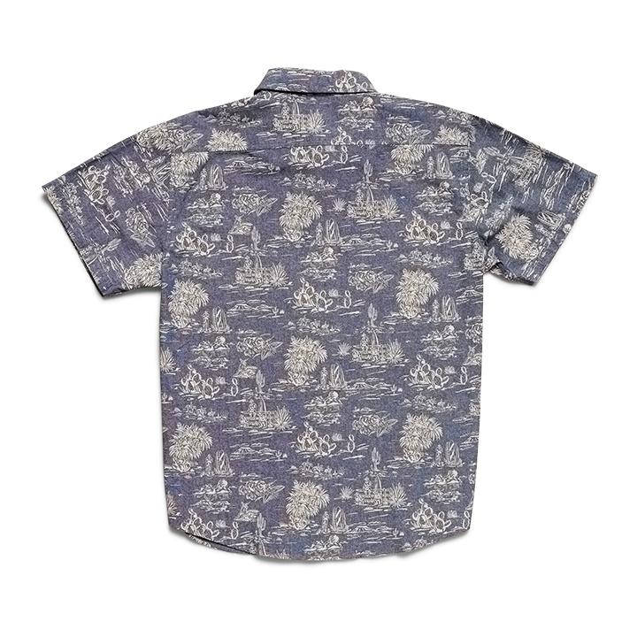 Mansfield Shirt - Outpost Print Woven Shirts Howler Bros