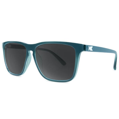 Teal Sunglasses - Polarized Smoke Lenses Sunglasses Knockaround