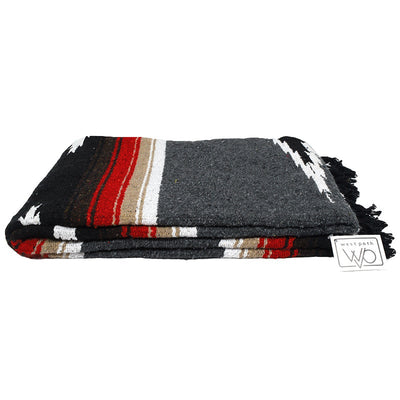 retro mexican blanket open road goods