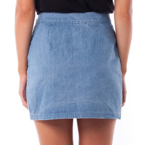 rhythm denim brooklyn skirt
