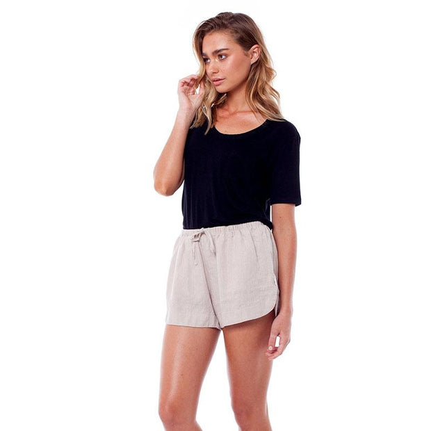 Women's linen beach shorts Rhythm