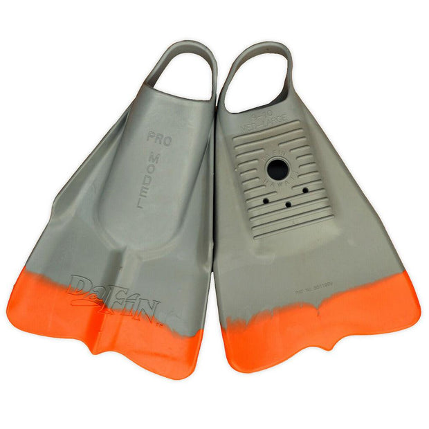 Vissla X Dafin Fins - Grey/Orange Swim Fins DaFin Hawaii