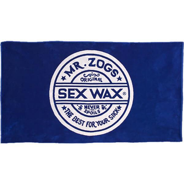 Sex Wax Towel - Blue Towels Mr. Zog's