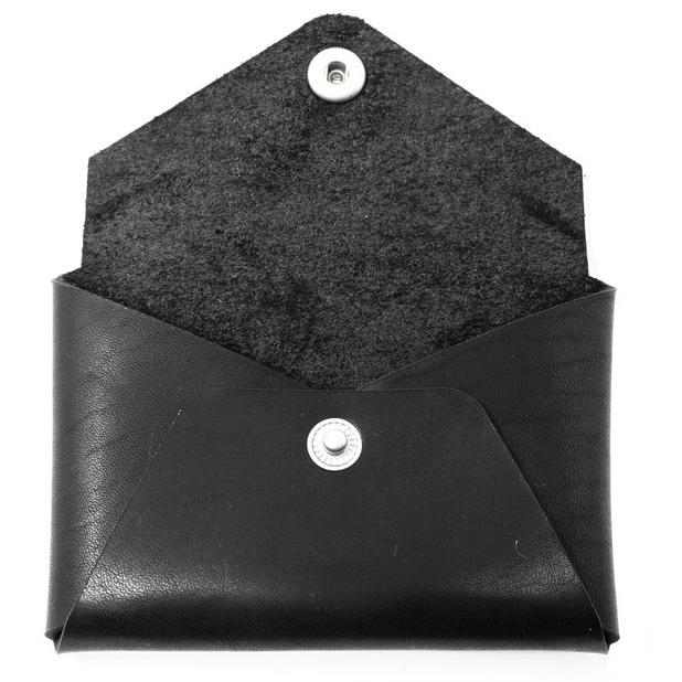 Horween Leather Card Wallet - Black