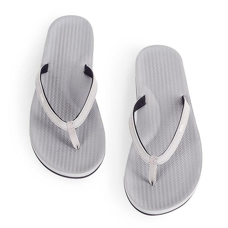 Eco-Friendly Flip Flops - Grey Sandals Indosole 6-7