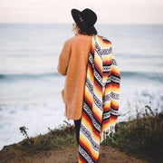 Sunflower La Playa Mexican Yoga Blanket La Playa Blankets West Path