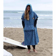 Surf Changing robe blue by West Path